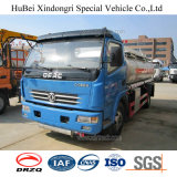 caminhão de tanque Fuel Oil da gasolina da gasolina do euro 3 de 7cbm Dongfeng