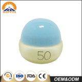 Vaso crema di plastica rotondo variopinto per cura di pelle