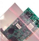 Saco cor-de-rosa do LDPE ESD do Ziplock