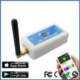 Regulador programable elegante del RGB WiFi de la automatización casera
