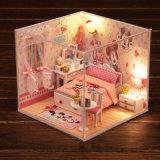 DIYの教育のおもちゃのためのCaton Mickyマウス人形の家