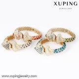 Neuer Ankunfts-Fisch-Entwurfluxuxrhinestone-Armband Farbe in der Gold24k
