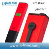 Kleine Rode Draagbare Digitale pH van de Grootte Meter pH-2011
