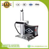 Маркировка лазера CNC волокна 10With20With30W изготовления Китая подвергает отметку механической обработке Ss/Al/Cu