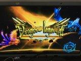 Slot machine della macchina del casinò della macchina del gioco di pesca della galleria di legende del drago