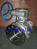 el acero inoxidable 2PC ensanchó la vávula de bola de flotación (Q41F)