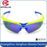 Venta al por mayor personalizada de marca Polar Glare Cycling Vidrios UV 400 Ce Polarized Riding Pesca conducir gafas de sol con 5 lentes intercambiables