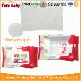 Toalhetes para pele, Pega fácil limpeza toalhetes de bebé, China fabricante de produtos para bebé