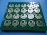 Placa de circuito impreso PCB 4 capas con la inmersión de cobre oro 1.5 Oz.