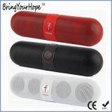 Altoparlante di Bluetooth di figura della pillola con un driver dei 2 altoparlanti (XH-PS-618)