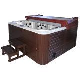 Vasca da bagno esterna acrilica del pannello esterno di massaggio della STAZIONE TERMALE dei 100 S.U.A. dei getti con la funzione della Jacuzzi