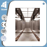 De Lift van de Passagier van het Roestvrij staal van de Spiegel van de snelheid 1.0m/S