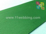 Courroie de sangle de polyester pour la ligne de file d'attente de station de courroie d'isolement
