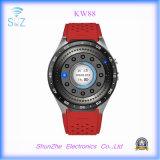 Relógio esperto Multi-Function de Bluetooth Kw88 Andriod com o G-Sensor do monitor da saúde de SIM