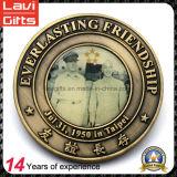 Moneda del recuerdo del metal de la moneda de la alta calidad de encargo Memorial Honor