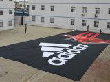 Zoll-freie Entwurfs-gute Qualitätsim freienineinander greifen-Fahne mit Ösen
