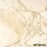 Heiße Verkaufs-Marmor-Entwurfs-Baumaterial-glasig-glänzende Fliese-Porzellan-Fußboden-Fliese (WT-6A111)