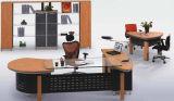 現代MFCによって薄板にされるMDFの木のオフィス表(NS-NW197)