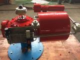 Schottisches Joch-pneumatische Stellzylinder mit Schalter-Kasten-Magnetventil-Reise-Ventil-Steuerventil