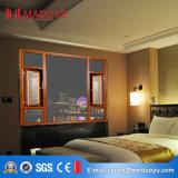 Qualitäts-manuelles Blendenverschluss-Aluminiumfenster