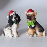 De Decoratie van het Huis van de Honden van Kerstmis
