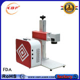 Bewegliche Faser-Laser-Markierungs-Maschine für Kupfer/Aluminium/Metall/Nichtmetalle