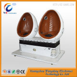 판매가 2개의 시트를 가진 Wangdong 9d 계란 Vr 영화관에 의하여 꼭대기에 오른다