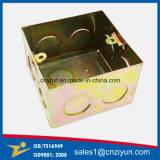 Fibre optique métalliques personnalisées La boîte de jonction avec zinc jaune