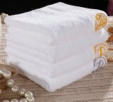 高品質白いカラー16s綿のホテルの浴室タオル