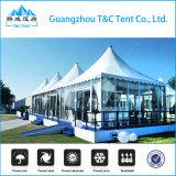 10 tentes bon marché extensibles de pagoda de crête élevée de personnes pour le mariage