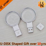 Magnifying Glass / Lens Crystal USB Flash Drive présent (YT-3270-04)