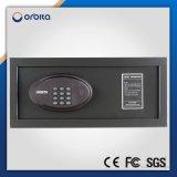 Código eletrônico do hotel e caixa segura do dinheiro com depósito de chaves