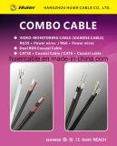 Cable siamés Rg59 de la alta calidad para el sistema del CCTV de la vigilancia