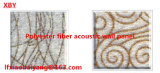 O GV aprovou o painel 100% acústico de fibra de poliéster para a placa da decoração do painel de parede & do painel de teto