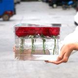 Коробка свежего цветка кристально чистый акриловая для Европ и рынка Америка