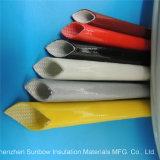 Manicotti elettrici Braided del rivestimento del collegare della vetroresina rivestita di silicone resistente ad alta tensione 7.0kv