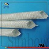 高温および耐熱性絶縁材のガラス繊維の編みこみの熱Insulationiの袖