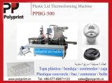 ペット機械(PPBG-500)を形作るプラスチックコップふたかカバー