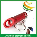 Torcia Keychain della torcia elettrica del metallo LED con l'apri di bottiglia