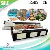Gran Formato 2,5 m * 1,3 m UV impresora plana para Vidrio y cerámica Impresión