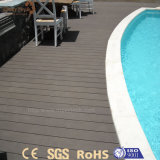 Profil composé en bois extérieur antioxydant de la qualité WPC pour l'étage