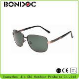 Óculos de sol quentes do metal dos aviadores dos óculos de sol do Mens da forma