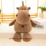 Comercio al por mayor de juguetes de peluche de hipopótamo con certificación EN71