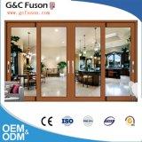 Fuson große schiebende ausgeglichenes Glas-Tür