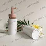 PlastikSkincare verpackende weiße Haustier-Flasche mit Lotion-Pumpe (PPC-PB-064)