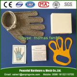 肉屋の衣服のカキの処理のためのステンレス鋼の網の手袋