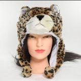 Chapéu bonito da boné da peluche do animal dos desenhos