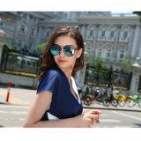 Óculos de Sol moda baixa quantidade mínima de venda quente Vintage amostras grátis UV Ce400 Óculos de plástico promocional