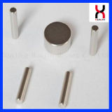 Imán del cilindro de la talla del cliente del boro del hierro del neodimio