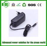 Hot Sale hotte aspirante 16,8 V2A pour alimentation électrique de commutation de charge batterie au lithium/batterie Li-ion à l'alimentation adaptateur avec bouchon personnalisé